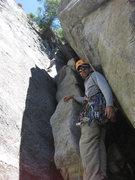 Rock Climbing Photo: Start of Regular Route on Sunnyside Bench, Yosemit...