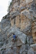 Rock Climbing Photo: The Undersir Abules to the left from here; cut rig...