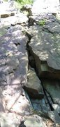 Rock Climbing Photo: Up the crack!