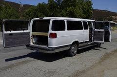 The open van.
