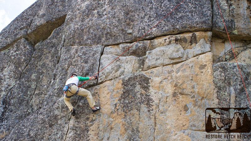 Rock Climbing Photo: GP on Wandering Albatross