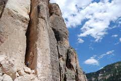 Rock Climbing Photo: Ten Sleep WY