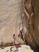Rock Climbing Photo: Moonshine Dihedral Smith Rocks
