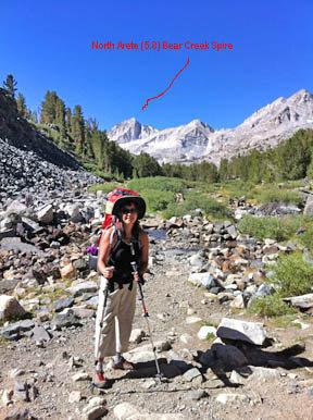 Rock Climbing Photo: 2012 Birthday climb, Bear Creek Spire, North Arete...