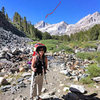 2012 Birthday climb, Bear Creek Spire, North Arete (5.8)