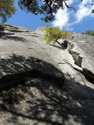 Rock Climbing Photo: Nutcracker (5.8), Pitch 1, Manure Pile Buttress, Y...