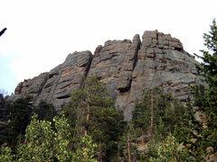 Rock Climbing Photo: The taller bit of Gem Lake Wall.