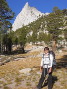 Rock Climbing Photo: Approach to Cathedral Peak. Amazing.
