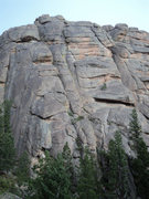 Rock Climbing Photo: Topo from a slightly different angle.