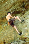 Rock Climbing Photo: Un-named 5.11b in Muir Valley, Red River Gorge, KY