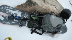 Rock Climbing Photo: My splitty