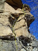 Rock Climbing Photo: These are nice, short leads.