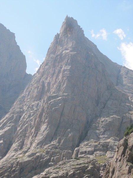 Rock Climbing Photo: The NF of Turret looks amazing.