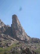 Rock Climbing Photo: A cool tower on the south side of Animas Mtn.