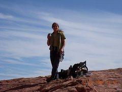 Rock Climbing Photo: Relaxing in Red Rock.