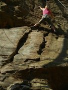 Rock Climbing Photo: muir valley - Red River Gorge