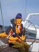 sailing in Canada - cold!