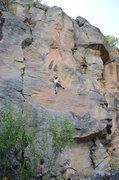 Rock Climbing Photo: Me on Rally Race