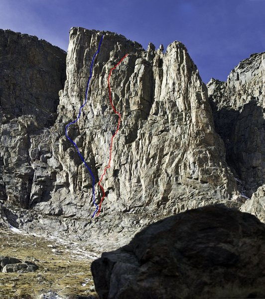 Another view of the route. It is the red one.