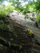 Rock Climbing Photo: Loran Smith on the FA of Adanedi.