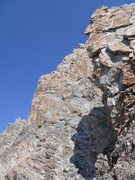 Rock Climbing Photo: The South Ridge from the col on the approach.  The...