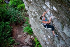 Rock Climbing Photo: Portrait of an Artist as a Young Man.  Red River G...