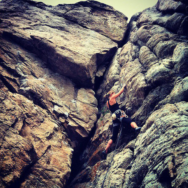 Rock Climbing Photo: Sport Park, Boulder Canyon