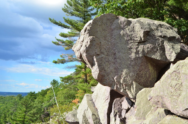 Rock Climbing Photo: Another very impressive boulder that needs some la...