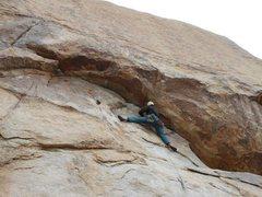 "Rock Climbing Photo: Eric Coffman leading ""sidewinder"" 5.10b ..."
