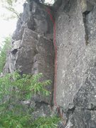 Rock Climbing Photo: My Mother Is A Half Motorboat 10a