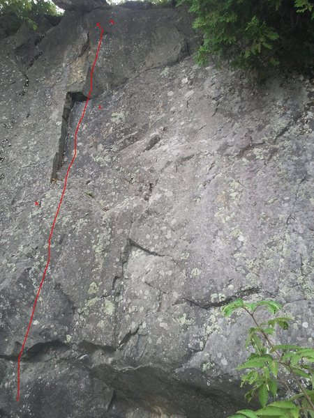 Rock Climbing Photo: Poison Ivy 5.9