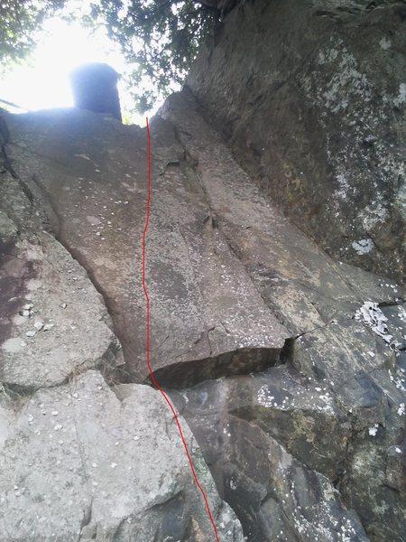 Rock Climbing Photo: Cinderella's Sister 5.5