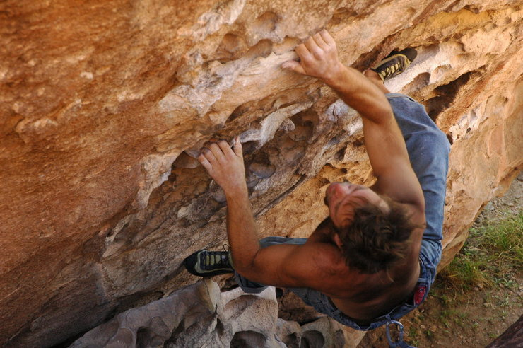 Rock Climbing Photo: hueco1