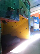 Bouldering cave.