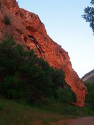 Rock Climbing Photo: Diamond Fork Arch