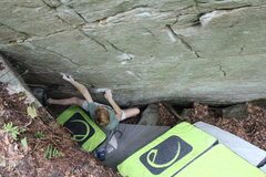 Rock Climbing Photo: Joel Brady getting the 3rd ascent of the classic S...
