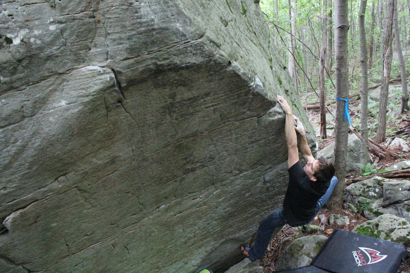 Matt Tshippert doing Croc Hunter V6 second go.