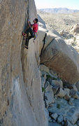 Rock Climbing Photo: At the jug. Photo: Simon Hatfield