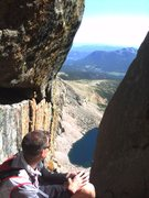 Rock Climbing Photo: The view from up the Notch.