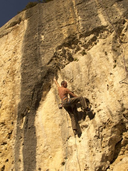 "Rock Climbing Photo: Finale Ligure: Sector ""silenzio"" 7b"