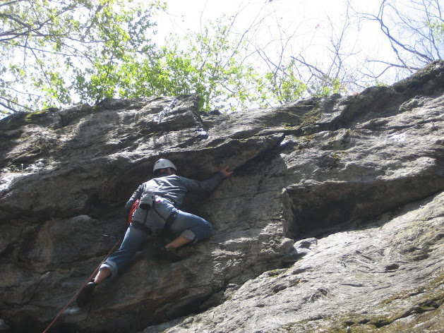 Rock Climbing Photo: #2 Get the undercling and stand up!