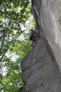 Rock Climbing Photo: nearing the top