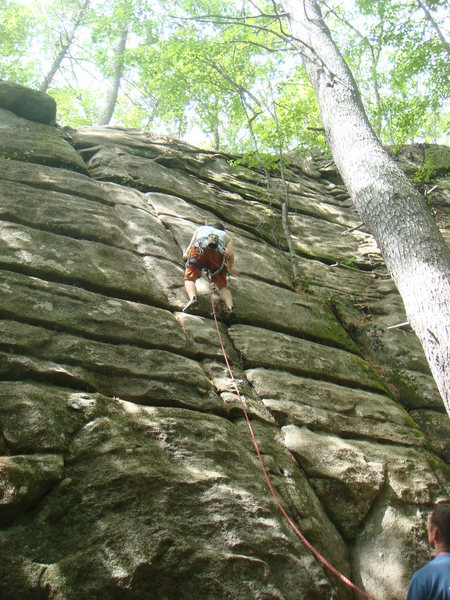 Matt on Layback cracks