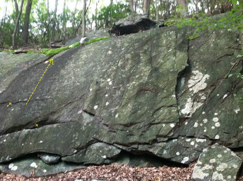 Rock Climbing Photo: OG Kush