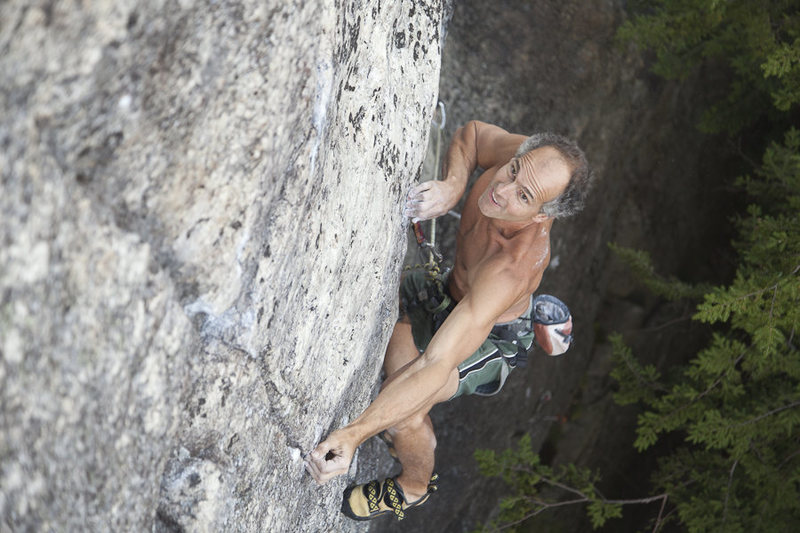 "Rock Climbing Photo: Joe T on ""Moe Howard Died For Our Sins"" ..."