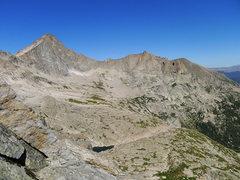 Rock Climbing Photo: Looking toward McHenry's.