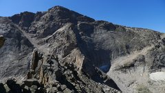 Rock Climbing Photo: Chiefshead from Spearhead.  The most direct way to...