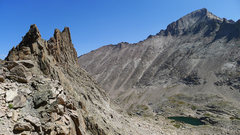 Rock Climbing Photo: Looking back at Spearhead.