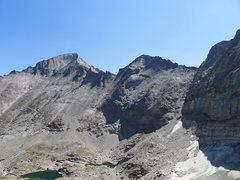 Rock Climbing Photo: Looking toward Long's and Pagoda.