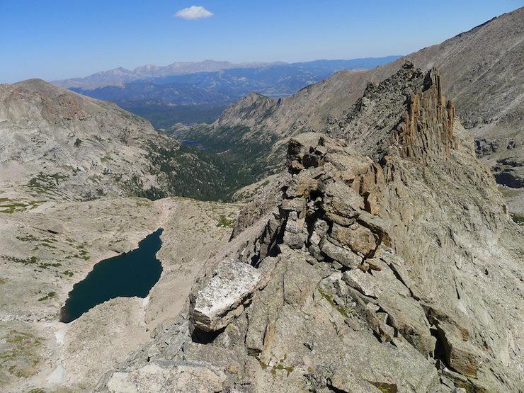 Spearhead and Glacier Gorge.